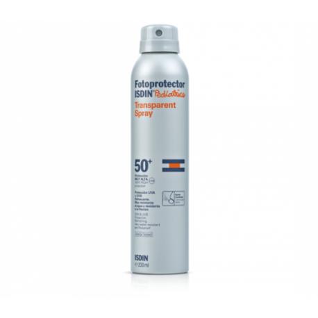 isdin pediatrics fotoprotector spray transparente SPF50+ 200ml