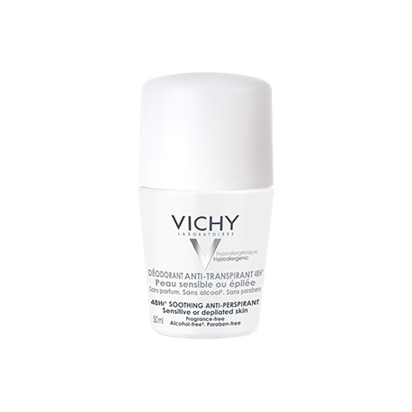Vichy Desodorante Anti-Transpirante Pieles Sensibles 48 h Roll On