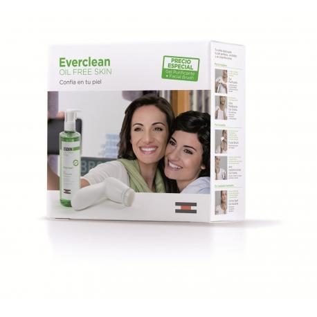 Isdin Everclean Gel Purificante 240 ml + Brush