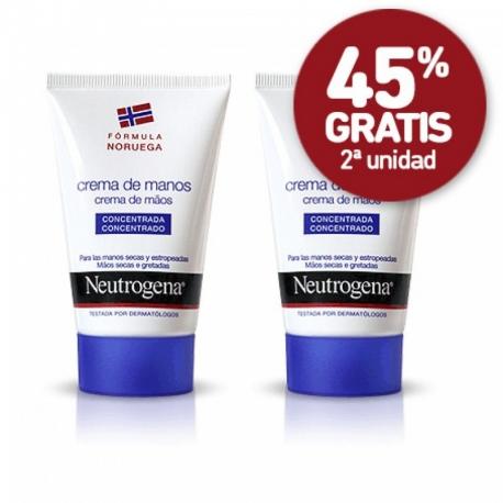 Crema de Manos Concentrada Neutrógena Pack