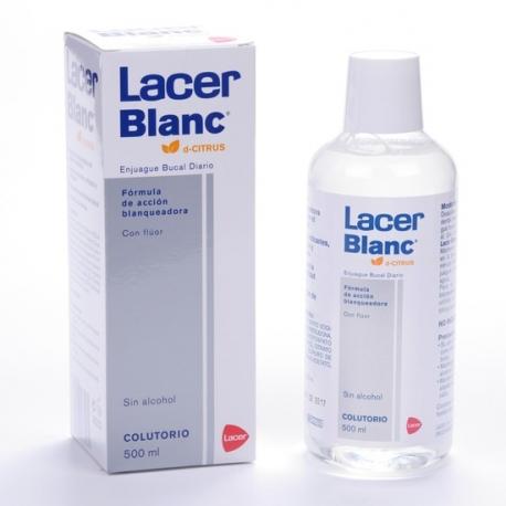 Lacer Blanc Colutorio 500 ml Sabor Citrus