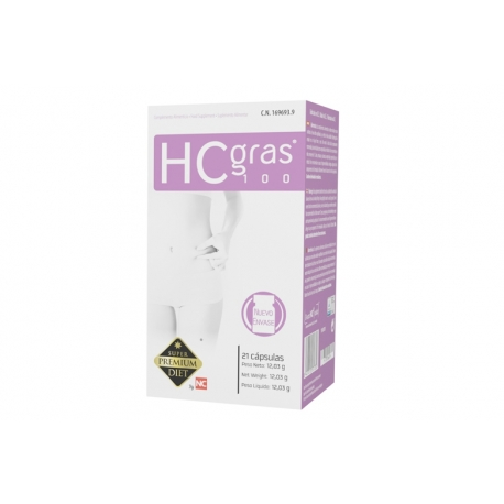 HCgras 100 15 Cápsulas